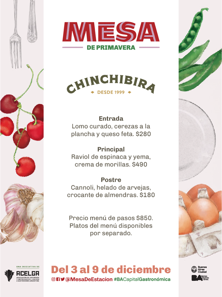 mesa primavera chinchibira